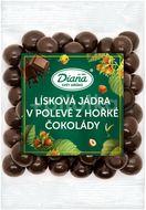 Diana Company Lísková jádra v polevě z hořké čokolády 100g