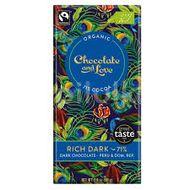Chocolate and Love Rich Dark 71%, BIO čokoláda 80g