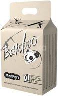 MonPeri Bamboo XL 12–16kg Jednorázové  bambusové EKO pleny 17ks