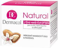 Dermacol Natural mandlový krém noční 50ml