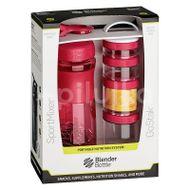 Blender Bottle Sport Mixer® GoStack růžový