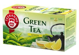 TEEKANNE Zelený čaj citrón 20x1,75g
