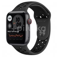 Apple Watch Nike SE GPS + Cellular, 44mm Space Gray Aluminium Case, Anthracite/Black Nike Sport Band, Regular 1ks
