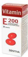 Vitamin E 200 Zentiva 200mg 30 tobolek