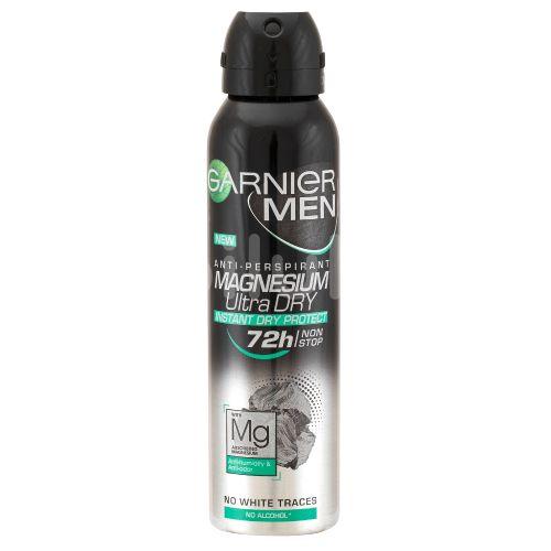 Garnier Men Magnesium Ultra Dry 72H pánský antiperspirant sprej 150ml