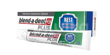 Blend-a-dent fixační krém na zuby PLUS Dual Protection 40g
