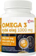 Omega 3 Rybí olej 1000mg EPA330mg/DHA220mg 60 kapslí