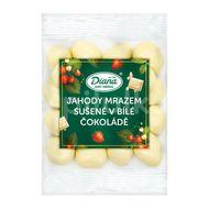 Diana Company Jahody mrazem sušené v bílé čokoládě 100g