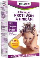 Paranit sprej 100ml + hřeben + šampon 100ml zdarma
