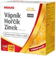 Walmark Vápník, Hořčík, Zinek Osteo 140+40 tablet