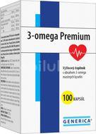Generica 3-omega Premium 100 kapslí