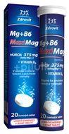 Zdrovit MaxMag Hořčík 375mg+B6 20 šumivých tablet