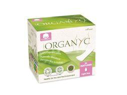 Menstruační vložky z biobavlny slipové slabé 24ks