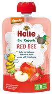 Holle Bio pyré - Red Bee- Jablko s jahodami 100g