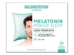 GoldNutrition Clinical Melatonin Power Sleep 30 kapslí