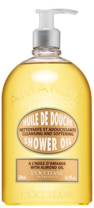 L'Occitane Sprchový olej Mandle 500ml
