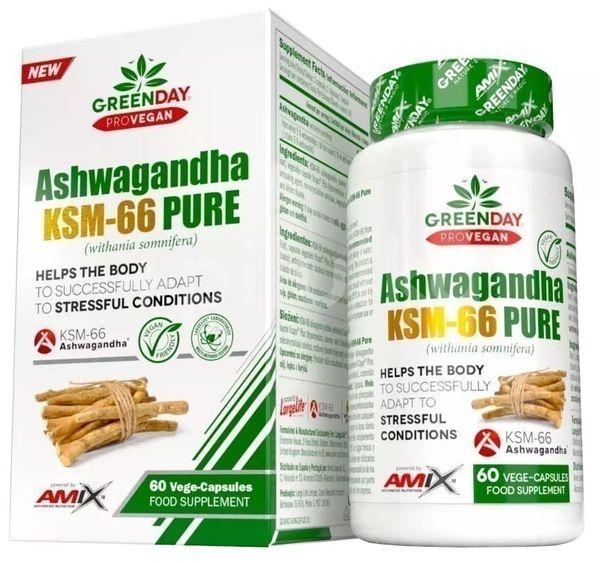 Amix ProVegan Ashwagandha KMS-66 Pure 60 kapslí