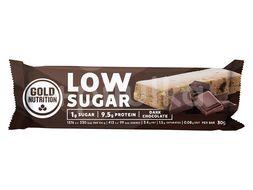 GoldNutrition Protein Bar Low Sugar tmavá čokoláda 30g