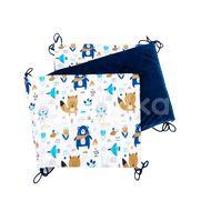 T-Tomi Skládaný mantinel Velvet, blue bears