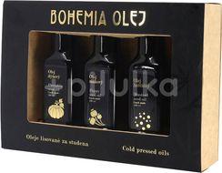 Bohemia olej Dárkový set LZS olejů - dýně, mák, hořčice 3x100ml