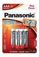 Panasonic LR03PPG/6BP 4+2F Pro Power Gold