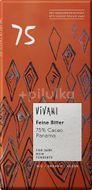 Vivani Bio hořká čokoláda 75% s kokosovým cukrem 80g