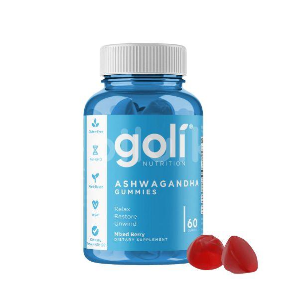 Goli Nutrition bonbony Ashwagandha 60ks