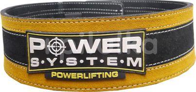 Power System opasek na posilování STRONGLIFT YELLOW vel.S/M