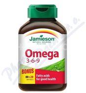 Jamieson Omega 3-6-9 1200mg 100 kapslí