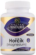 Golden Nature Magnesium (Hořčík) Chelate + Vitamin B6 100 tablet