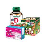 Vitamínový balíček Kids Preventan Junior+Vitamín D3+Rakytníček