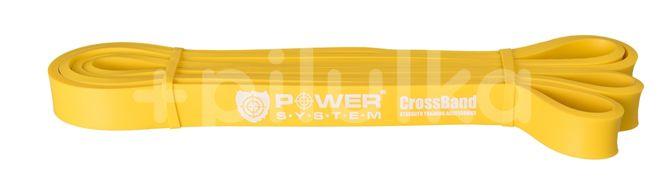 Power System guma na posilování CROSS BAND LEVEL 1 Žlutá