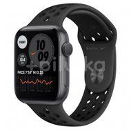 Apple Watch Nike S6 GPS, 44mm Space Gray Aluminium Case, Anthracite/Black Nike Sport Band, Regular 1ks