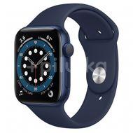 Apple Watch S6 GPS, 44mm Blue Aluminium Case, Deep Navy Sport Band, Regular 1ks