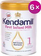 Kendamil kojenecké mléko 1 DHA+ 6x800g