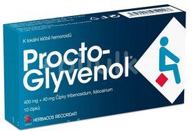 Procto-glyvenol rektalní čípek 10