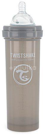 Twistshake Kojenecká láhev Anti-Colic (dudl.L) Pastelově šedá 330ml