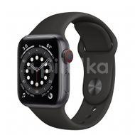 Apple Watch S6 GPS + Cellular, 40mm Space Gray Aluminium Case, Black Sport Band, Regular 1ks
