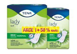 TENA Lady Slim Normal Inkontinenční vložky 24+12ks