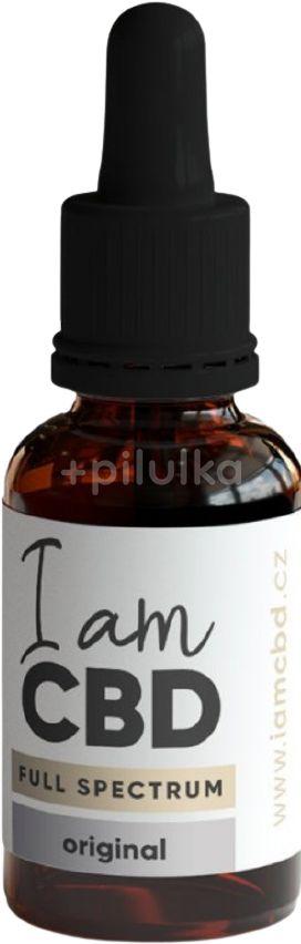 I am CBD Full Spectrum CBD konopný olej 10% original 10ml