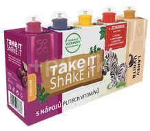 Take it Shake it Zebra mix ovocný nápoj 5x20ml