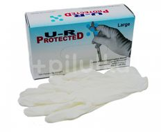 U-R Protected Rukavice nitrilové vel.L bezprašné 100ks
