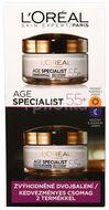 L´Oréal Paris Age Specialist 55+ denní a noční krém proti stárnutí pleti duopack