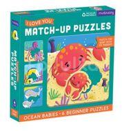 Mudpuppy Match-Up Puzzle - Mláďata z oceánu