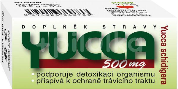 Naturvita Yucca 500mg 60 tablet