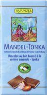 Rapunzel Bio Čokolá damléčná  MANDLE TONKA 100g
