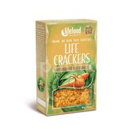 Lifefood LIFE CRACKERS BIO RAW Zelňáky 90g