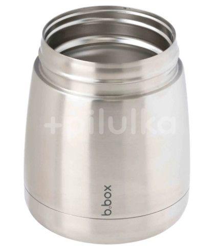 B.box Termoska na jídlo - modrá/šedá, 335ml