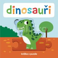 Svojtka Knížka s puzzle Dinosauři