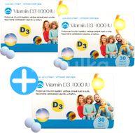 Novax Naturpharma Vitamín D3 60+30zdarma